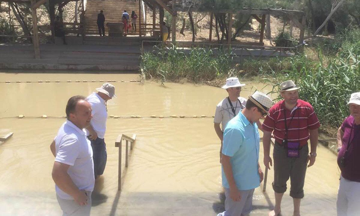 Jordan, place of the Baptism of Jesus